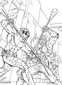 kleurplaat G.I. Joe (15)