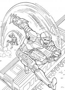 kleurplaat G.I. Joe (16)