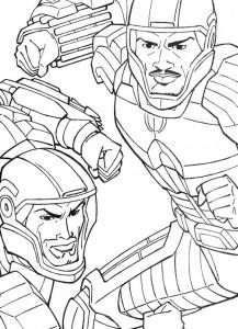 coloring page GI Joe (18)