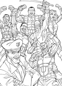 kleurplaat G.I. Joe (22)