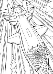 kleurplaat G.I. Joe (23)
