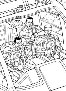 coloring page GI Joe (24)