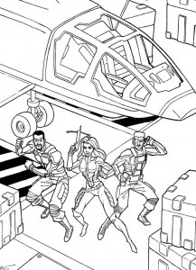 coloring page GI Joe (3)