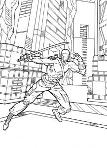 coloring page GI Joe (32)