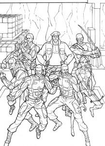 kleurplaat G.I. Joe (38)