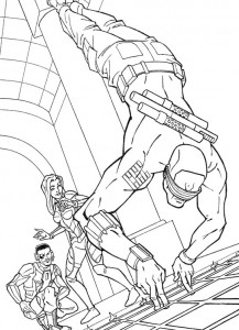 kleurplaat G.I. Joe (4)