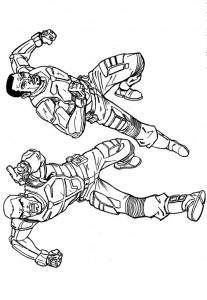 kleurplaat G.I. Joe (42)