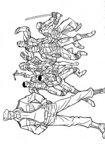 kleurplaat G.I. Joe (43)