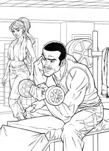 coloring page GI Joe