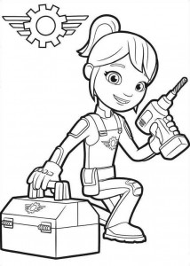 coloring page Gabby 2