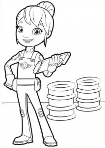 coloring page gabby 3