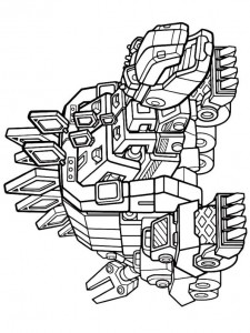 coloring page garby