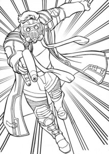 coloring page gardiens-of-the-galaxy-01