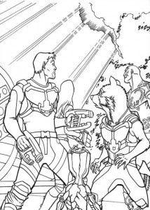 coloring page gardiens-of-the-galaxy-06