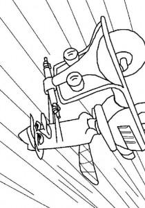 coloring page Secret agent P (1)