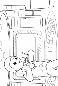 coloring page gene