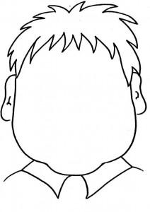 Disegno da colorare Facce (1)