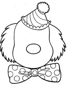 Disegno da colorare Facce (3)