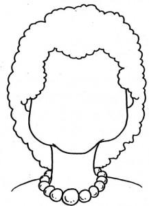 Disegno da colorare Facce (4)