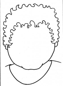 coloring page Faces (6)