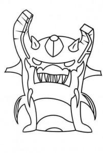 immagine da colorare Ghouled earth elemental 2