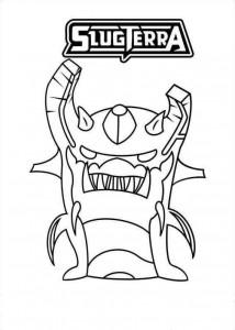 kleurplaat Ghouled earth elemental
