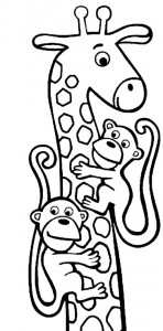 coloring page Giraffe (22)