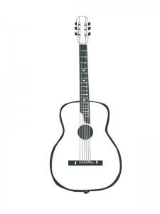 målarbok Gitarr (1)