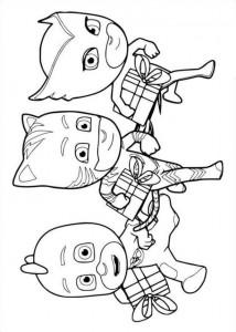 coloring page Gluglu Yoyo Bibou