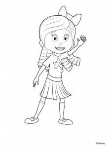 coloring page Goldie and bear (3)