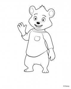 coloring page Goldie and bear (5)