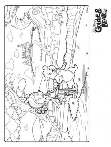 coloring page Goldie and bear (6)