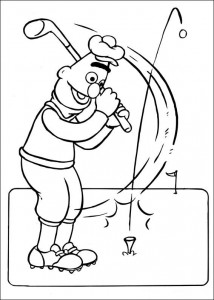 målarbok Golf (1)