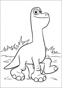 coloring page Good Dinosaur (2)