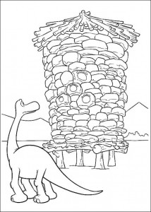 coloring page Good Dinosaur (6)