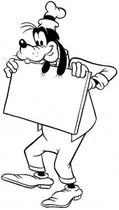 coloring page Goofy (8)
