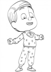 coloring page greg