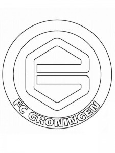 coloring page groningen