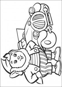 coloring page Big Ear (3)