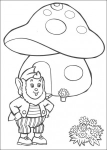 pagina da colorare Groot-Oor per la sua casa