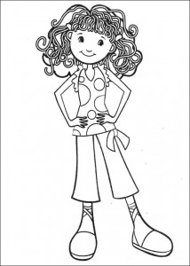 coloring page Groovy Girls (1)