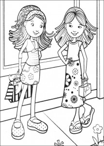 coloring page Groovy Girls (10)