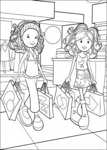 kleurplaat Groovy Girls (11)