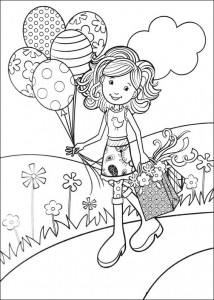 coloring page Groovy Girls (13)