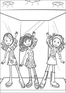 kleurplaat Groovy Girls (15)