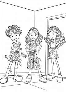 coloring page Groovy Girls (19)