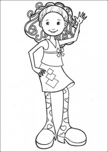 coloring page Groovy Girls (2)