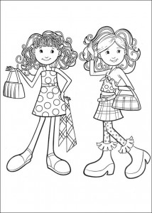 coloring page Groovy Girls (20)