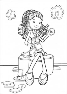 coloring page Groovy Girls (22)