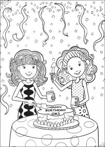 kleurplaat Groovy Girls (24)